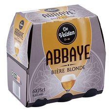 De Velden bière d'abbaye 6,6° -6x25cl