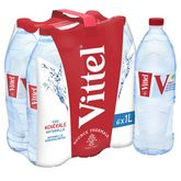 Vittel eau minérale 6x1l
