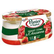 Panier de Yoplait lit de fraise 2x135g