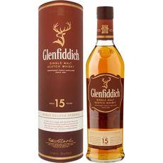 Glenfiddich solera réserve canister 15ans 40° -70cl