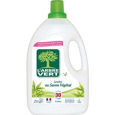 L'ARBRE VERT L'Arbre Vert Lessive diluée au savon végétal 30 lavages 2l 30 lavages 2l