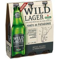 Heineken Wild lager H71 bière levure Patagonie 5,3° -3x33cl