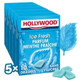 Hollywood icefresh dragées sans sucre 5x10 -70g