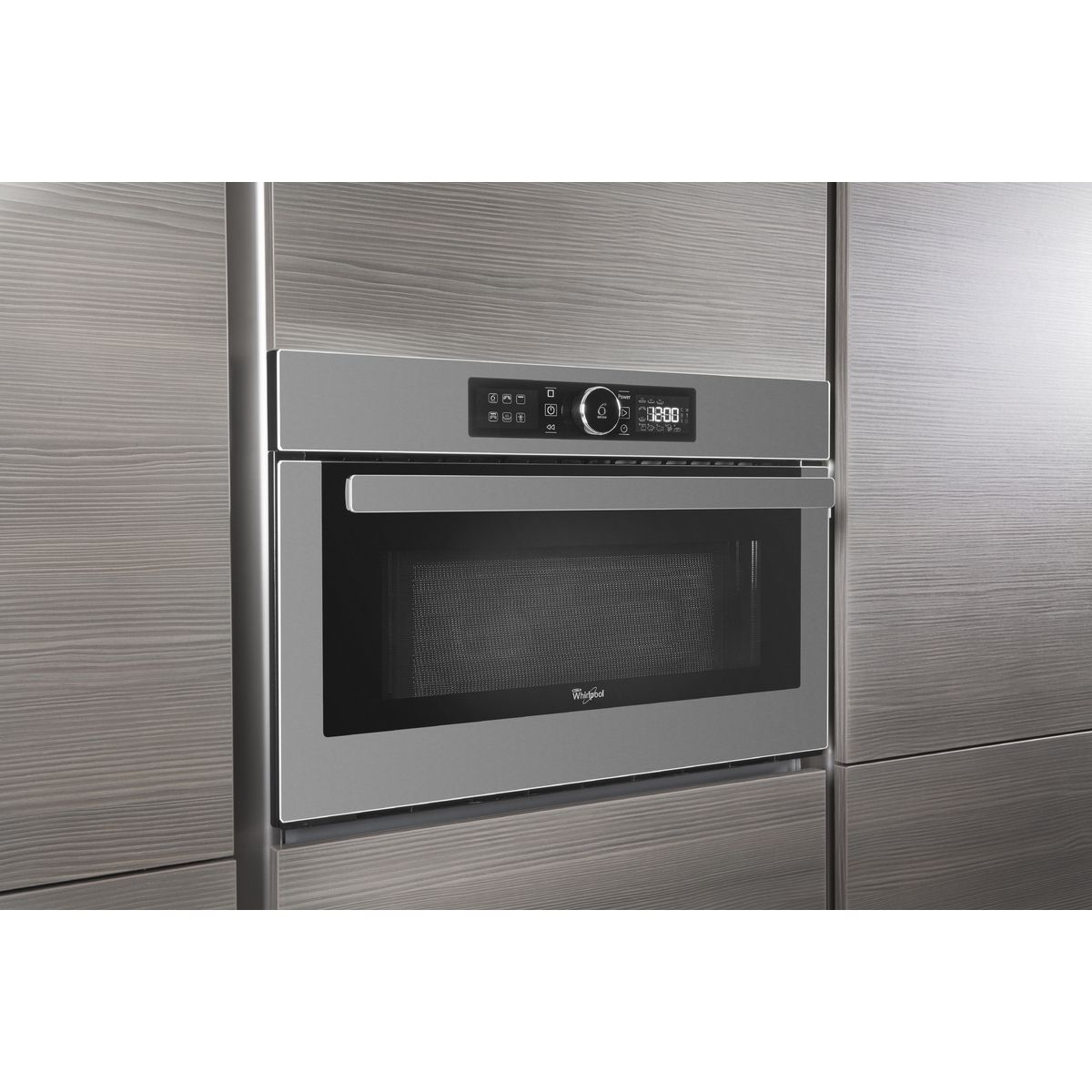 WHIRLPOOL Four micro ondes encastrable AMW730IX -