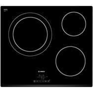 BOSCH Table de cuisson Vitrocéramique PKK631B17E - 59.2 Cm, 3 Foyers