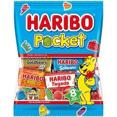 HARIBO Assortiment de bonbons en mini sachets 380g