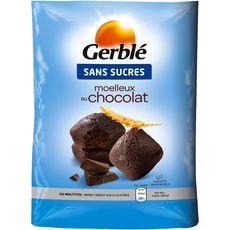 Gerblé moelleux tout chocolat sans sucre ajouté 196g