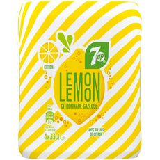 SEVEN UP 7up lemon 4x33cl