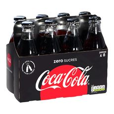 Coca-Cola zéro sucre 8x20cl