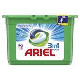 Ariel pods lessive alpine écodose x14 -0,378l