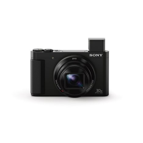 SONY Appareil photo compact - HX80 - Noir - + housse et carte SD 8 Go