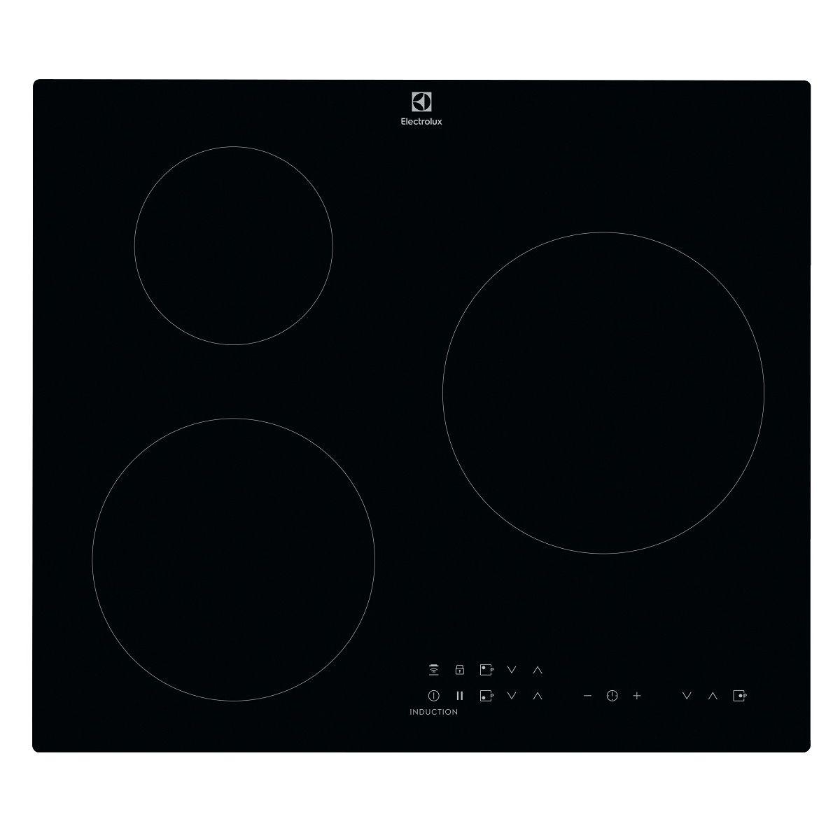 Table de cuisson à induction LIT60331BK, 60 cm, 3 Foyers