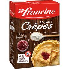 FRANCINE Ma pâte à crêpes sans colorant sans conservateur 380g