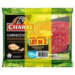 Carpaccio boeuf parmesan Charal