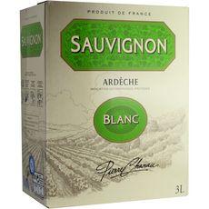 PIERRE CHANAU IGP Côteaux-de-l'Ardèche Sauvignon blanc 3L