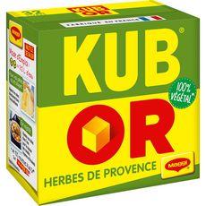 MAGGI Maggi Kub or Herbes de Provence fabriqué en France 128g 32 cubes 128g