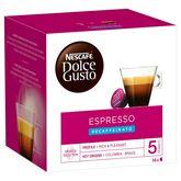 Nescafé Nescafé espresso décaféinato dolce gusto capsule x16 -96g
