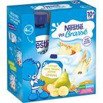 Nestlé p'tit brassé banane pomme céréales 4x90g dès 10mois