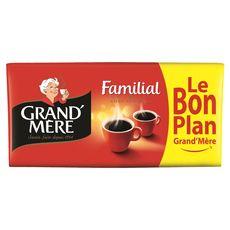 GRAND'MERE Café moulu familial 4x250g