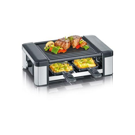 SEVERIN Raclette grill 2674 - Inox brossé et Noir