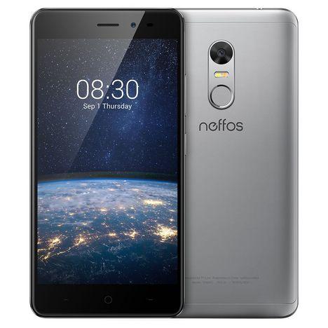 NEFFOS Smartphone X1 Lite - 16 Go - 5.0 pouces - Gris - Double SIM