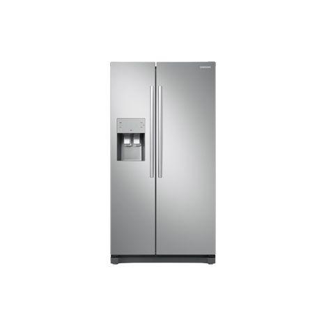 SAMSUNG Réfrigérateur américain RS50N3403SA - 501 L, Froid Ventilé
