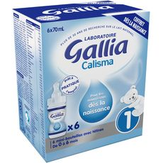 GALLIA Gallia coffret naissance 6x70ml de 0 à 6 mois