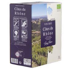 PIERRE CHANAU AOP Côtes-du-Rhône bio rouge Bib 3L