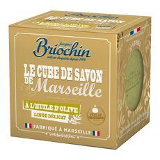 BRIOCHIN Cube de savon de Marseille à l'huile d'olive 300g