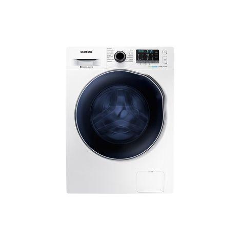 SAMSUNG Lave-linge séchant hublot WD70J5A10AW - Eco bubble, 7 Kg Lavage, ... b6da1668f8af