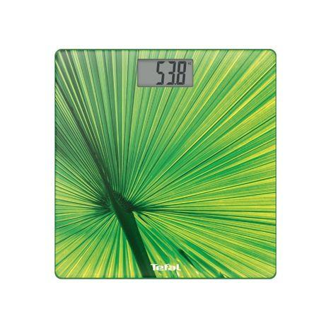 TEFAL Pèse-personne Altis vert décor PP2101V0