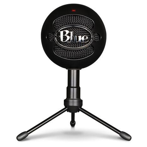 BLUE MICROPHONE Microphone SNOWBALL ICE Noir