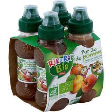 Rik & Rok pur jus de pomme bio 4x20cl