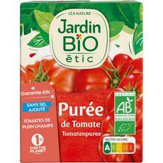 Jardin Bio JARDIN BIO ETIC Purée de tomates en brique bio