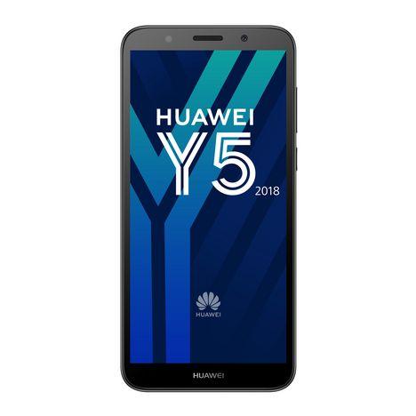HUAWEI Smartphone Y5 2018 - 16 Go - 5.45 pouces - Noir - Double SIM