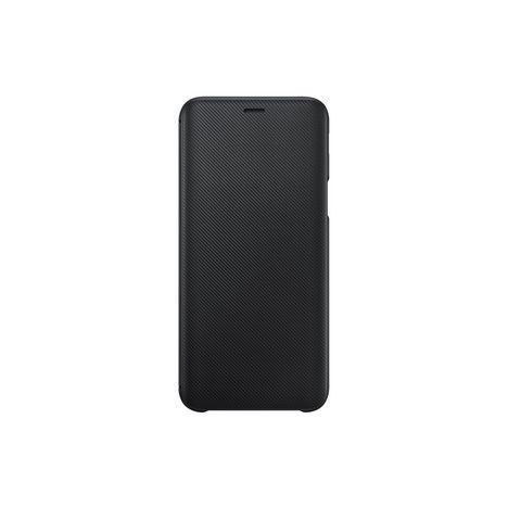 SAMSUNG Etui folio porte carte pour Galaxy J6 2018 - Noir