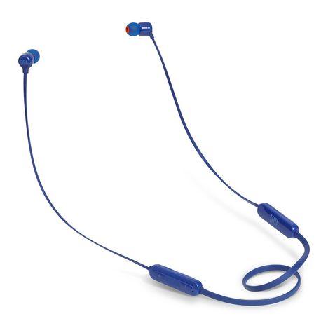 JBL T110BT - Bleu - Écouteurs intra-auriculaire