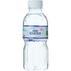 Mont roucous Eau minérale naturelle plate bouteille 25cl