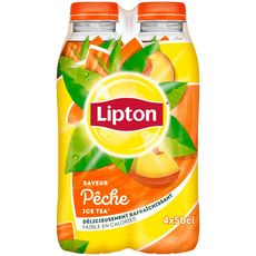 Lipton Ice Tea pêche 4x50cl