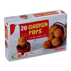 Auchan Boulettes de poulet sauce chili 240g