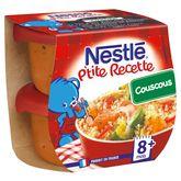 Nestlé ptite recette couscous 2x200g dès 8mois