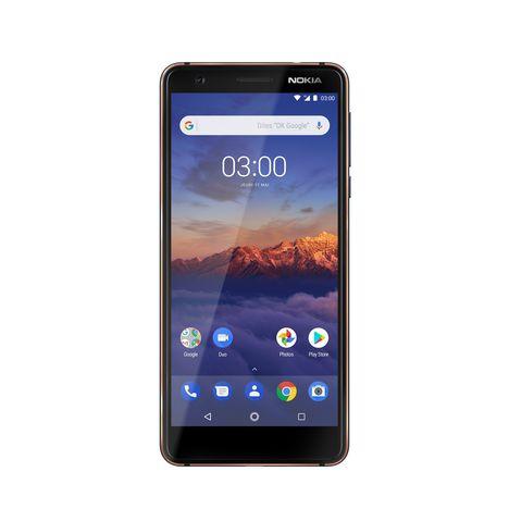 NOKIA Smartphone 3.1 - 16 Go - 5.2 pouces - Bleu - Double SIM