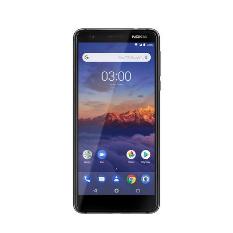 NOKIA Smartphone 3.1 - 16 Go - 5.2 pouces - Noir - Double SIM