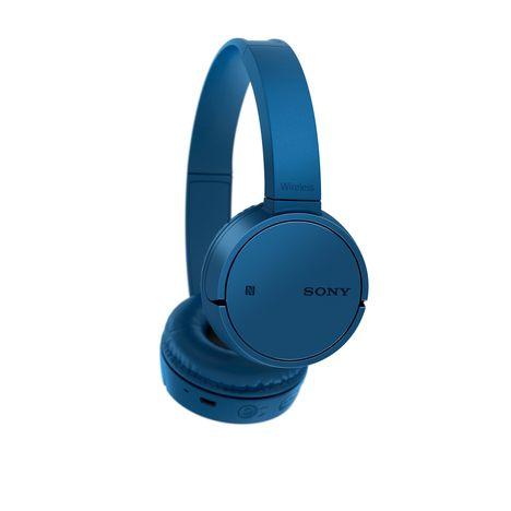 casque audio bleu sony