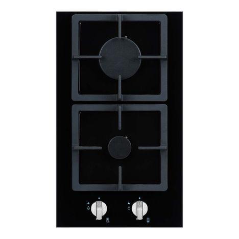CURTISS Table de cuisson à gaz R24LG, 30 cm, 2 Foyers