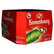 Kronenbourg bière blonde 4,2° 26x25cl