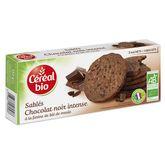 Céréal Bio biscuit chocolat intense 132g