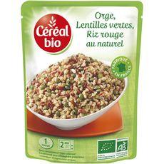 Céréal bio orge riz rouge lentille verte 250g