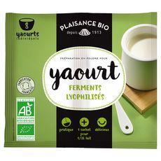 Plaisance bio préparation yaourt 2x6g