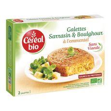 Céréal Bio galette sarrasin comté 200g